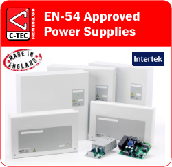 C-TEC EN54 Approved Power Supply Units