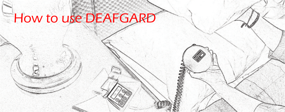 Click Here to find out how to use Deafgard Vibrating Pillow Alarm